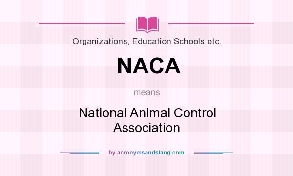 NACA meaning - what does NACA stand for?