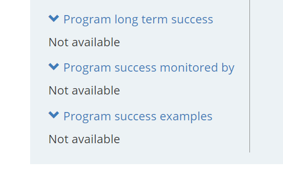 program-success