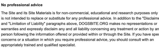 dogsbite-no-proffessional-advice-we-have-no-experise